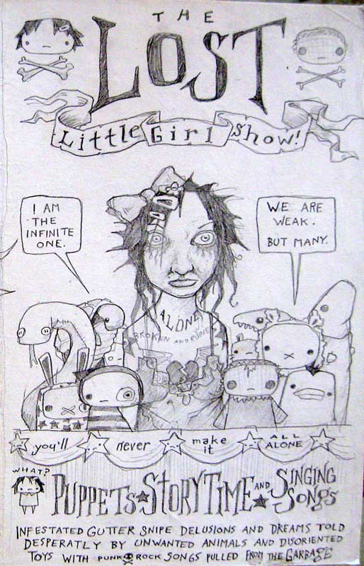 Lost Little Girl Art Show, Lillian Butter