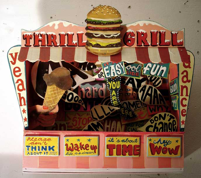 The Thrill Grill ~ Silke Thoss
