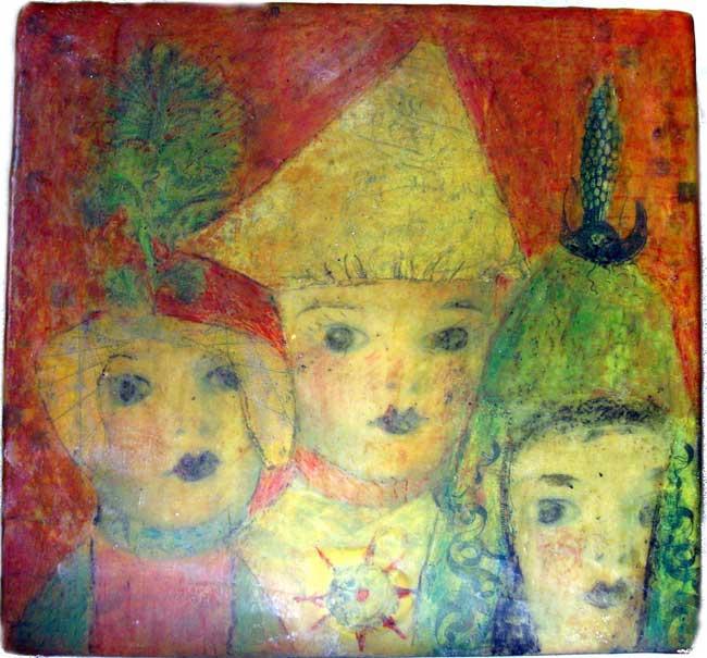 Anne Grgich~ Three
