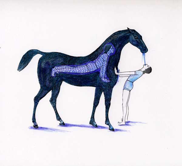 Cindy Rehm, Horse I