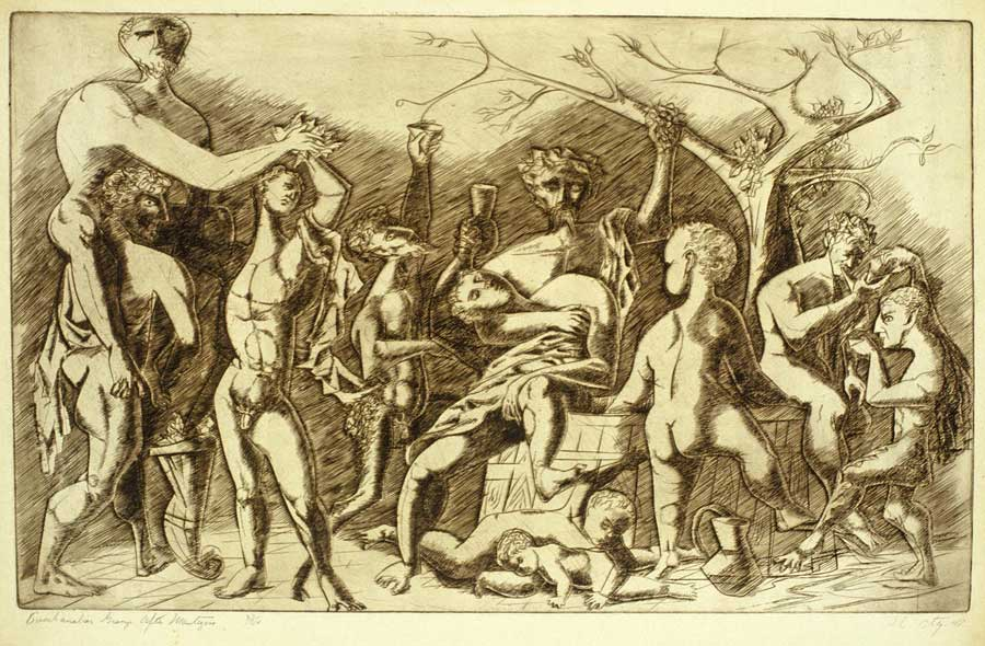 Bachanalean Group After Mantegna