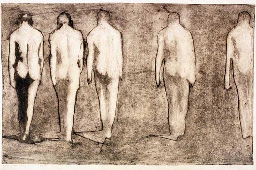 Walk of Five Men